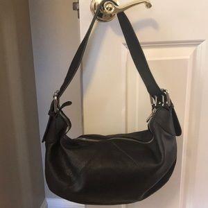 Furla chocolate brown leather Hobo bag